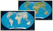Politische/Physische Weltkarte