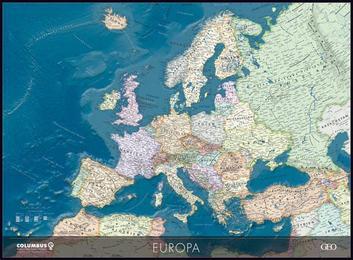 GEO politische Europakarte