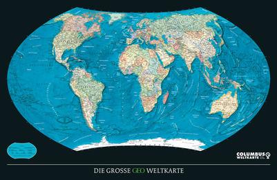 Die Große GEO Weltkarte