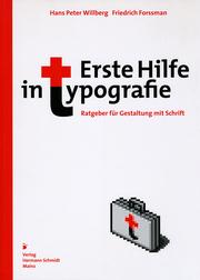 Erste Hilfe in Typografie - Cover