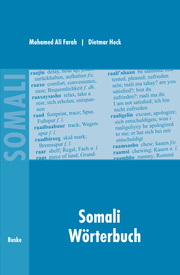 Somali Wörterbuch