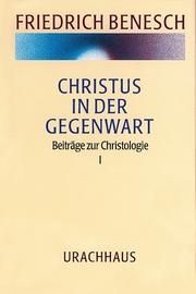 Vorträge und Kurse / Christus in der Gegenwart