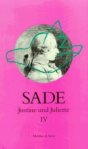 Justine und Juliette IV