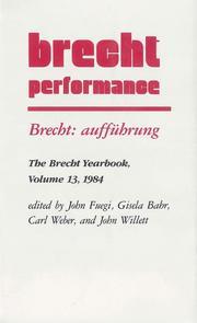 Brecht: aufführung