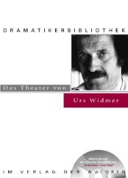 Das Theater von Urs Widmer