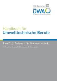 Handbuch für Umwelttechnische Berufe 3