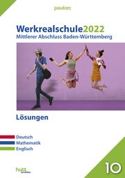 Werkrealschule 2022 - Mittlerer Abschluss Baden-Württemberg Lösungen