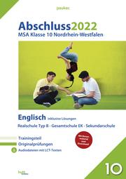 Abschluss 2022 - Mittlerer Schulabschluss Nordrhein-Westfalen Englisch Realschule