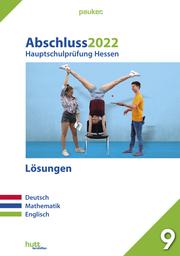 Abschluss 2022 - Hauptschulprüfung Hessen - Lösungen