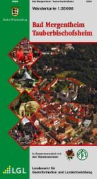 Wanderkarte 1:35000 Bad Mergentheim Tauberbischofsheim