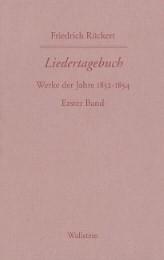 Friedrich Rückerts Werke. Historisch-kritische Ausgabe. Schweinfurter Edition / Liedertagebuch VII-IX