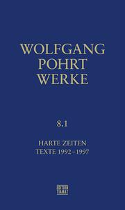 Werke Band 8.1