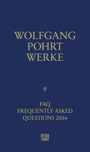 Werke Band 9