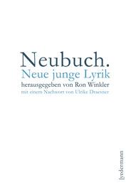 Neubuch.Neue junge Lyrik