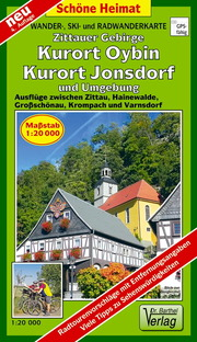 Zittauer Gebirge, Kurort Oybin, Kurort Jonsdorf und Umgebung