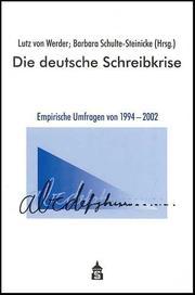 Die deutsche Schreibkrise