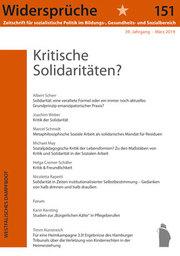Kritische Solidaritäten