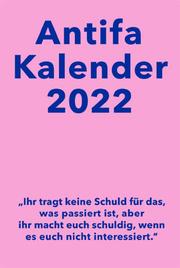 Antifaschistischer Taschenkalender 2022
