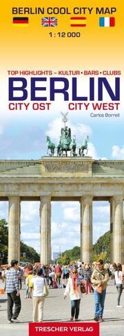 Stadtplan Berlin Cool City Map - Top Highlights: Kultur, Bars, Clubs - Cover