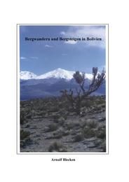 Bergwandern und Bergsteigen in Bolivien