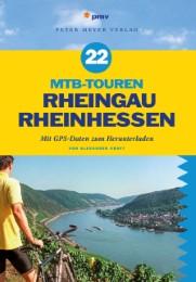 22 MTB-Touren Rheingau Rheinhessen