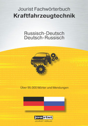 Jourist Fachwörterbuch Kraftfahrzeugtechnik