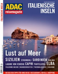 ADAC Reisemagazin Italienische Inseln