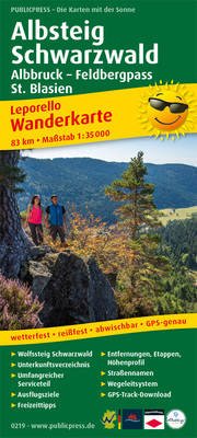 Albsteig, Schwarzwald, Albbruck - Feldbergpass, St. Blasien