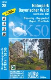 UK50-28 Naturpark Bayerischer Wald, westlicher Teil