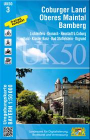 UK50-3 Coburger Land, Oberes Maintal, Bamberg