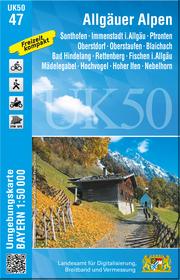 UK50-47 Allgäuer Alpen - Cover