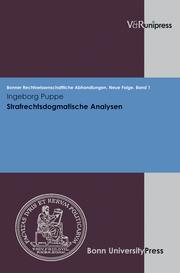 Strafrechtsdogmatische Analysen