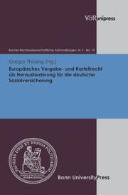 Europäisches Vergabe- und Kartellrecht als Herausforderung für die deutsche Sozialversicherung