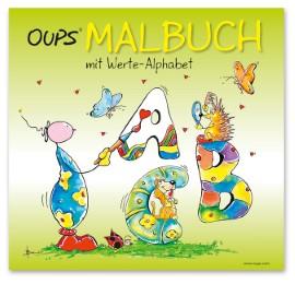 Oups Malbuch mit Werte-Alphabet