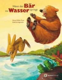 Wenn der Bär ins Wasser springt