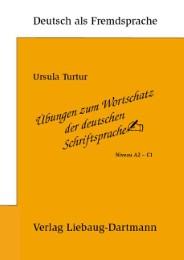 Übungen zum Wortschatz der deutschen Schriftsprache