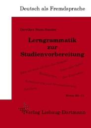Lerngrammatik zur Studienvorbereitung