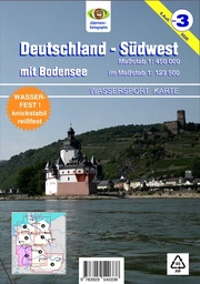 Deutschland Südwest mit Bodensee