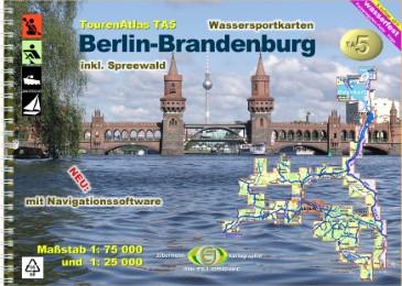TourenAtlas Berlin-Brandenburg