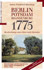 Berlin, Potsdam, Brandenburg 1775