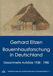Bauernhausforschung in Deutschland - Cover