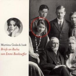 Martina Gedeck liest 'Briefe an Recha'