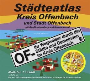 Städteatlas Kreis Offenbach und Stadt Offenbach