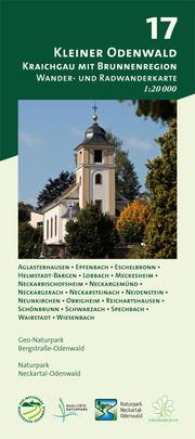 Blatt 17, Kleiner Odenwald - Kraichgau mit Brunnenregion