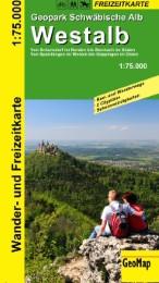 Westalb, Geopark Schwäbische Alb, Rad- und Freizeitkarte