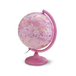 Kinder Leuchtglobus 'Zoo Pink'