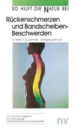 Rückenschmerzen und Bandscheibenbeschwerden - Cover