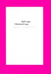 April 1943 / Kwiecien 1943