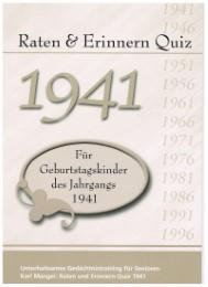 Raten & Erinnern Quiz 1941