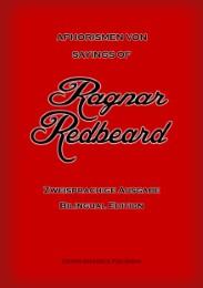 Aphorismen von Ragnar Redbeard/Sayings of Ragnar Redbeard